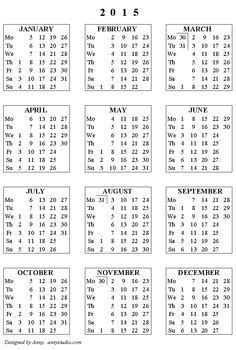 calendar yearly calendar printable yearly