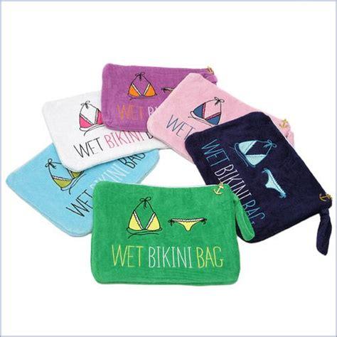 fun   honeymoon personalized bikini bag