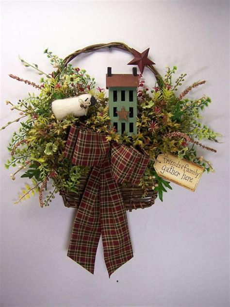 primitive wreath   love  wreathi