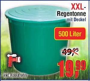 Müllsäcke 500 Liter : centershop xxl regentonne 500l mit deckel und hahn 19 99 ~ Watch28wear.com Haus und Dekorationen