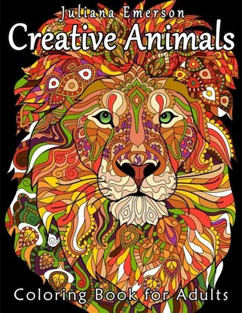 creative animals coloring book for adults 1530314712 ebay