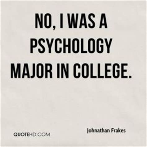 Funny Quotes About Psychology Majors