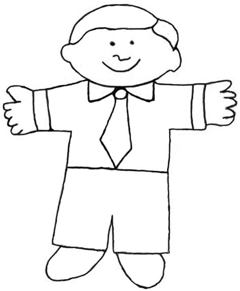Flat Stanley Template The World S Catalog Of Ideas