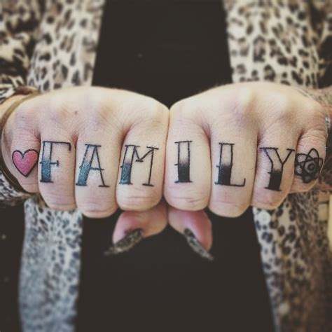 strong knuckle tattoo designs ideas art  brave