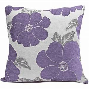 chenille poppy cushions large small floral sofa bed With big cushions for bed