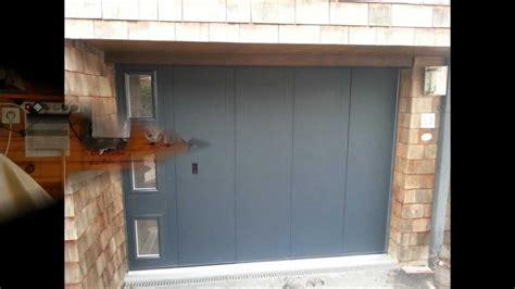 porte sectionnelle la toulousaine porte de garage sectionnelle lat 233 ral la toulousaine quot mat quot install 233 e par systematic