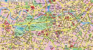 Touristischen karte von Berlin : Sehenswürdigkeiten und Touren