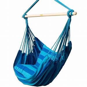 Soft Hanging Rope Hammock Chair Indoor Outdoor Max. 275 ...