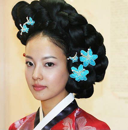 hanbok hair style traditional korean dress