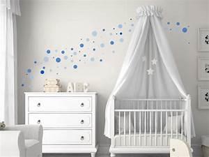 Babyzimmer Junge Wandgestaltung : kreative klebepunkte wandtattoo dots als deko punkte in 2019 paredes y techos pinterest ~ Eleganceandgraceweddings.com Haus und Dekorationen