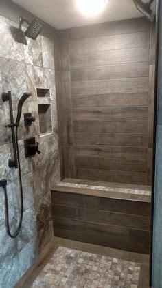 rustic walk  shower bathroom remodel shower shower