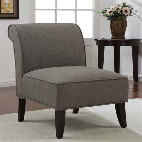 simple gray slipper armless design for living room