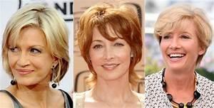 Coupe De Cheveux Pour Visage Rond Femme 50 Ans : coupe de cheveux femme 50 ans 30 id es pleines de ~ Melissatoandfro.com Idées de Décoration