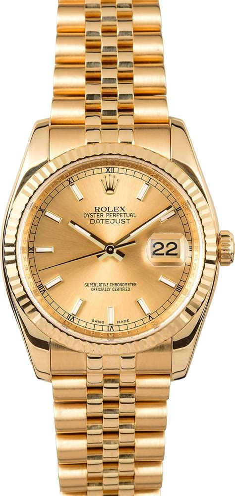 Men's Rolex Datejust 116238