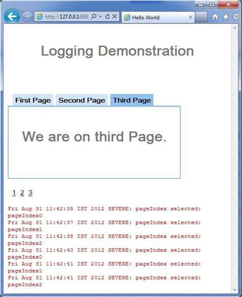 Gwt  Logging Framework