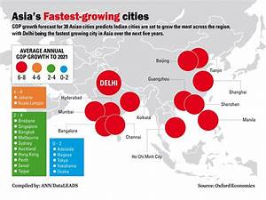 Asia's fastest growing cities