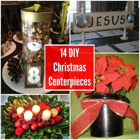 14 diy christmas centerpieces allfreechristmascrafts com