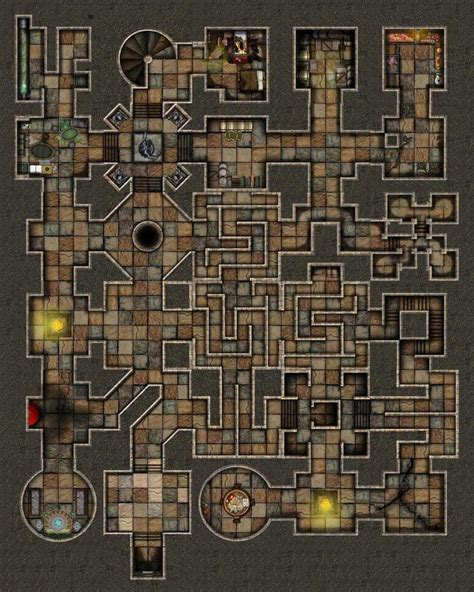 dungeons and dragons tile mapper dundjinni mapping software mazes design inspiration