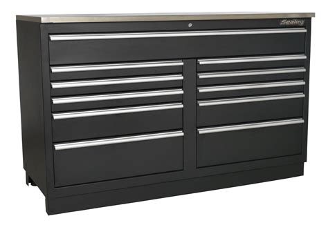 Sealey Modular Floor Cabinet 11 Drawer 1550mm Heavyduty. Aspen Home Desk. Dining Room Rugs Size Under Table. Pink Desk Chairs. White Top Coffee Table. Murrey Pool Table. 12 Drawer Tool Box. Storage Drawer Units. Fire Tables For Sale