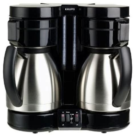 I am using the dual coffee maker from krups