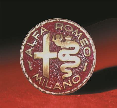 vintage alfa romeo logo logo alfa romeo 1945 1950 an icon a legend