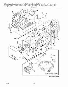 Parts For Frigidaire Frt21il6jb2  Ice Maker Parts