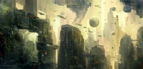 Scifi City 02 By Nkabuto On Deviantart