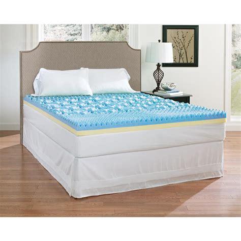 4 memory foam mattress topper broyhill 4 in gel memory foam mattress topper