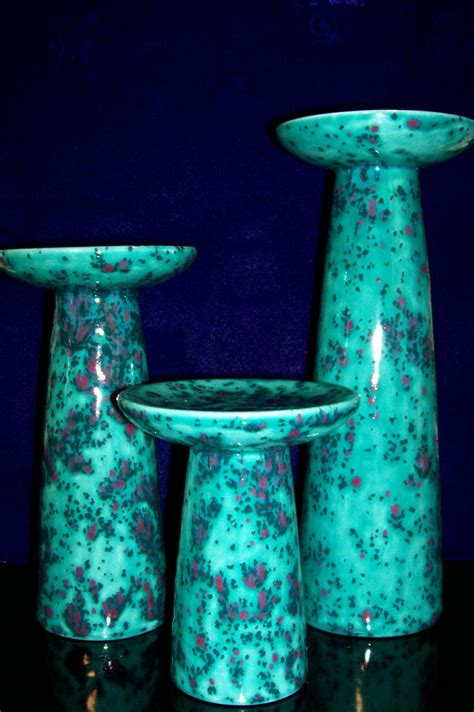 ceramic candle holders ceramic candle holder pillar candle holders by slipperyreef