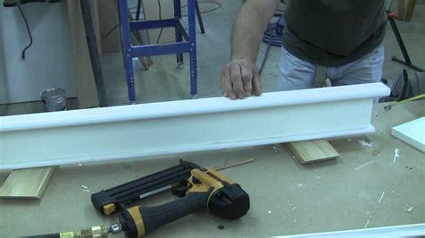 How To Trim A Craftsman Style Door Pt 3
