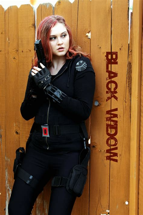 My Homemade Black Widow Costume For The Avengers Premier