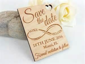 wedding save the date magnets infinite custom save the date magnet set wood save the date wedding save the date wedding