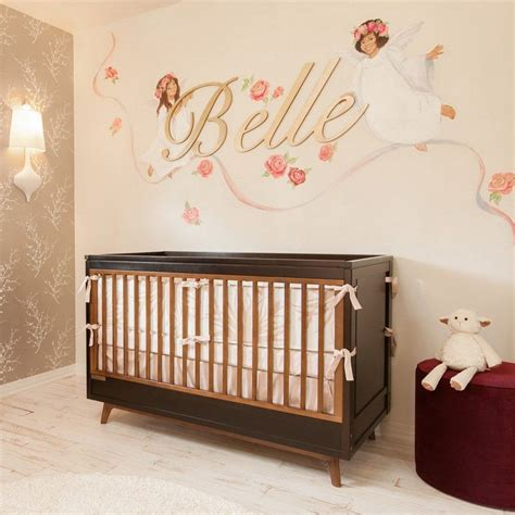 deco murale chambre bebe chambre bébé fille 50 idées de déco et aménagement