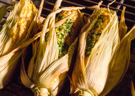 grilled corn in husk how to grill corn on the cob barbecue like it s hot