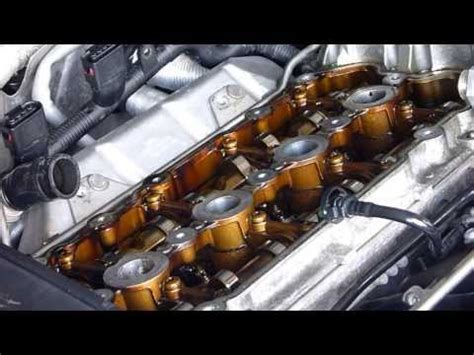 valve cover complete removal  gasket replacement  fsi engine vw dragtimescom