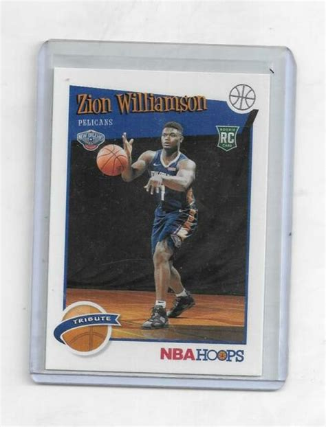 Not only has pelicans superstar zion williamson taken the league by storm during his first year in the nba, but his rookie trading cards have been a driving force in the recent surge in the market as well. zion williamson 2019 2020 nba hoops panini ROOKIE BASE CARD | eBay