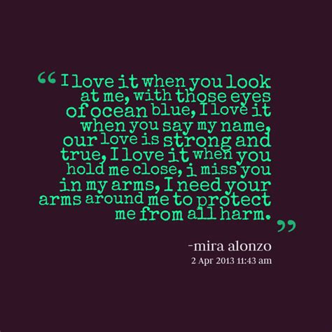 I Love Your Green Eyes Quotes