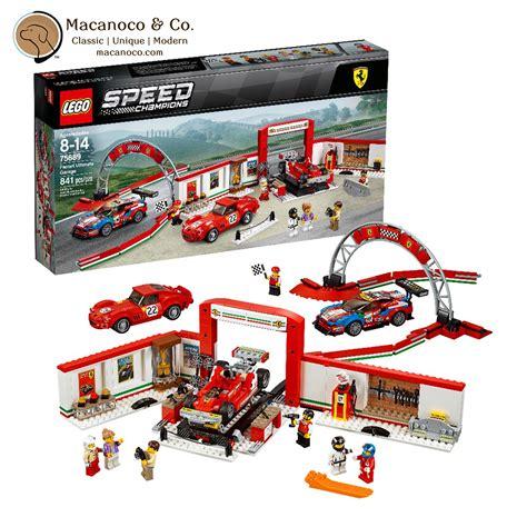 Lego architecture london skyline set. LEGO Speed Champions Ferrari Ultimate Garage Building Kit - Macanoco and Co.