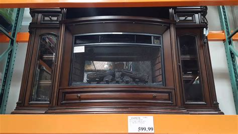 electric fireplace costco costco well universal wood electric fireplace 599