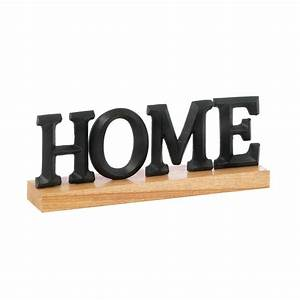 home tabletop block letter sign decor freestanding black With letter signs home decor
