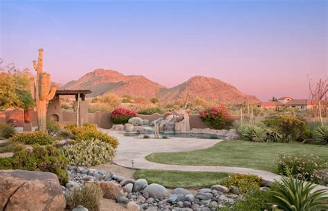 gardens of scottsdale lush desert landscaping with great mountain views
