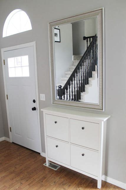entryway home ikea hemnes shoe