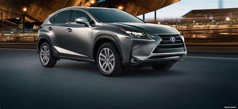 lexus nx luxury crossover lexuscom