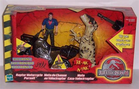 Jurassic Park Iii Raptor Motorcycle Pursuit Playset