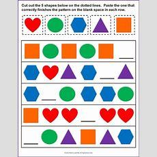 Finish The Pattern Good For Assessment  Math Activities (prek)  Pinterest Assessment