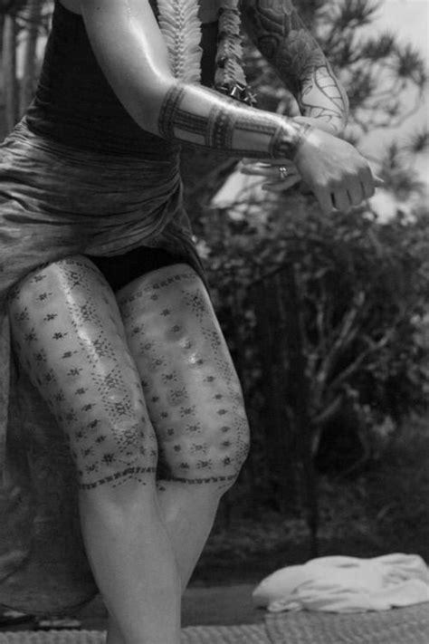 Traditional Malu Tattoo Photo credit: Cynthia Jimenez