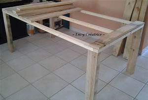 Table En Palette : tuto pour la r alisation d 39 une grande table en palette ~ Melissatoandfro.com Idées de Décoration