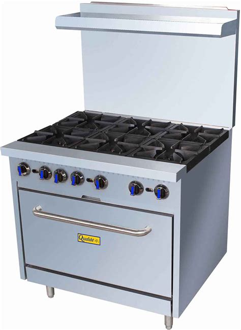 equipement cuisine qualite qlgr 36 36in gas range w 6 burners and oven