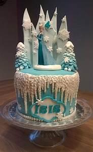 Gateau Anniversaire Reine Des Neiges : g teau d 39 anniversaire reine des neiges reine des glaces ~ Melissatoandfro.com Idées de Décoration