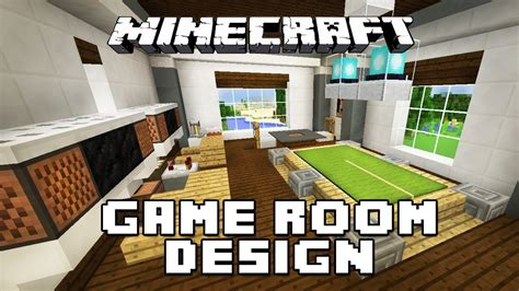 minecraft tutorial    furniture   game room